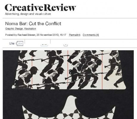 Creative Review - Noma Bar - Cut the Conflict