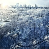 Stephen Wilkes, Central Park Snow, 2010, 37 x 60 inches, Edition 7/8