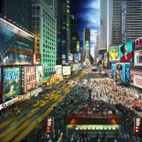 Stephen Wilkes, Times Square, 2010, 33.4 x 40 inches, Edition 5/15